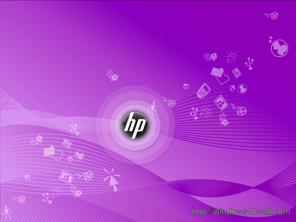Pink Stylish Hp Hd Background Wallpaper