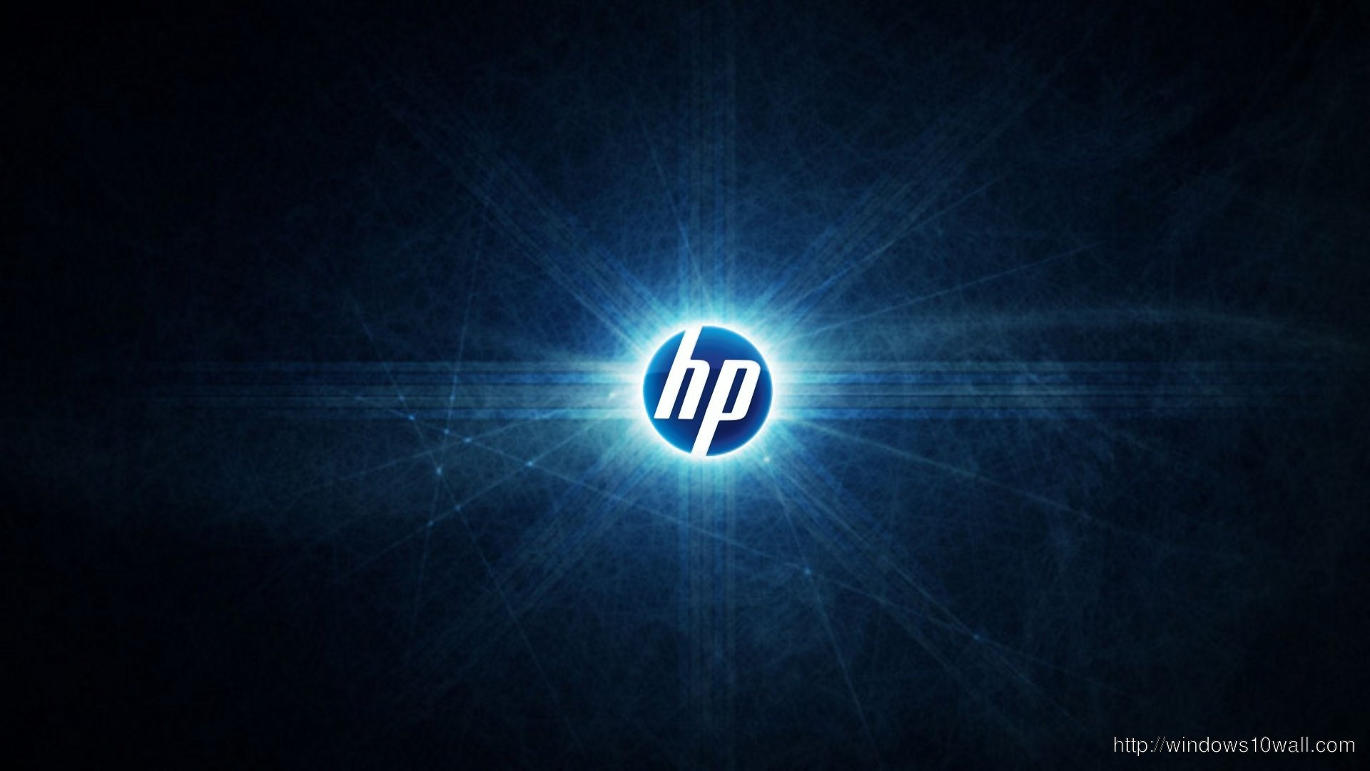 HP Dark Background Wallpaper