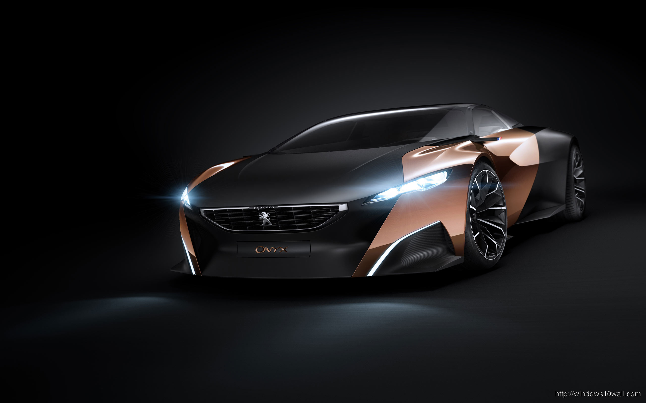 Peugeot Onyx Concept HD Car Background Wallpaper