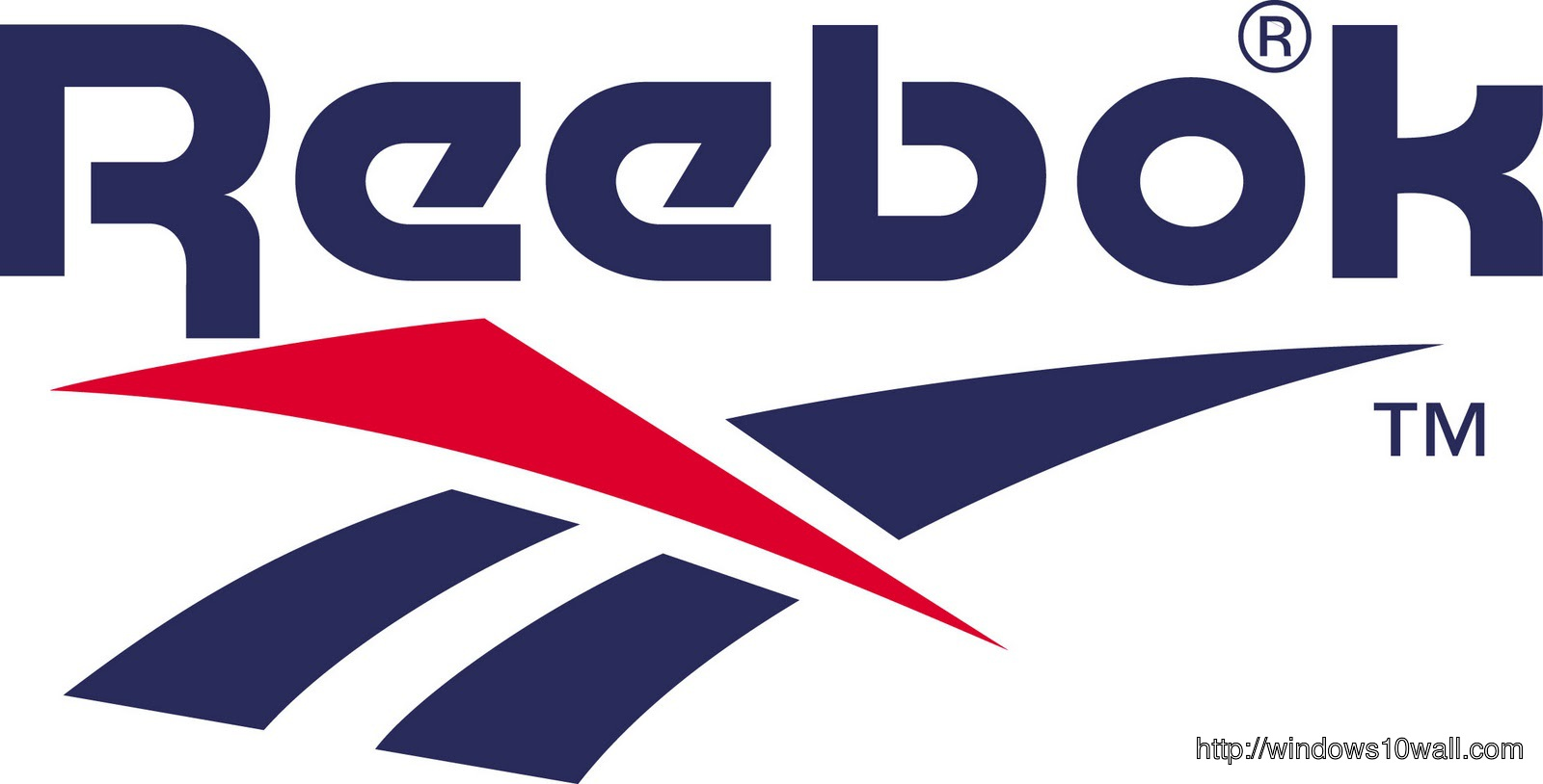 Reebok Logo Background Wallpaper