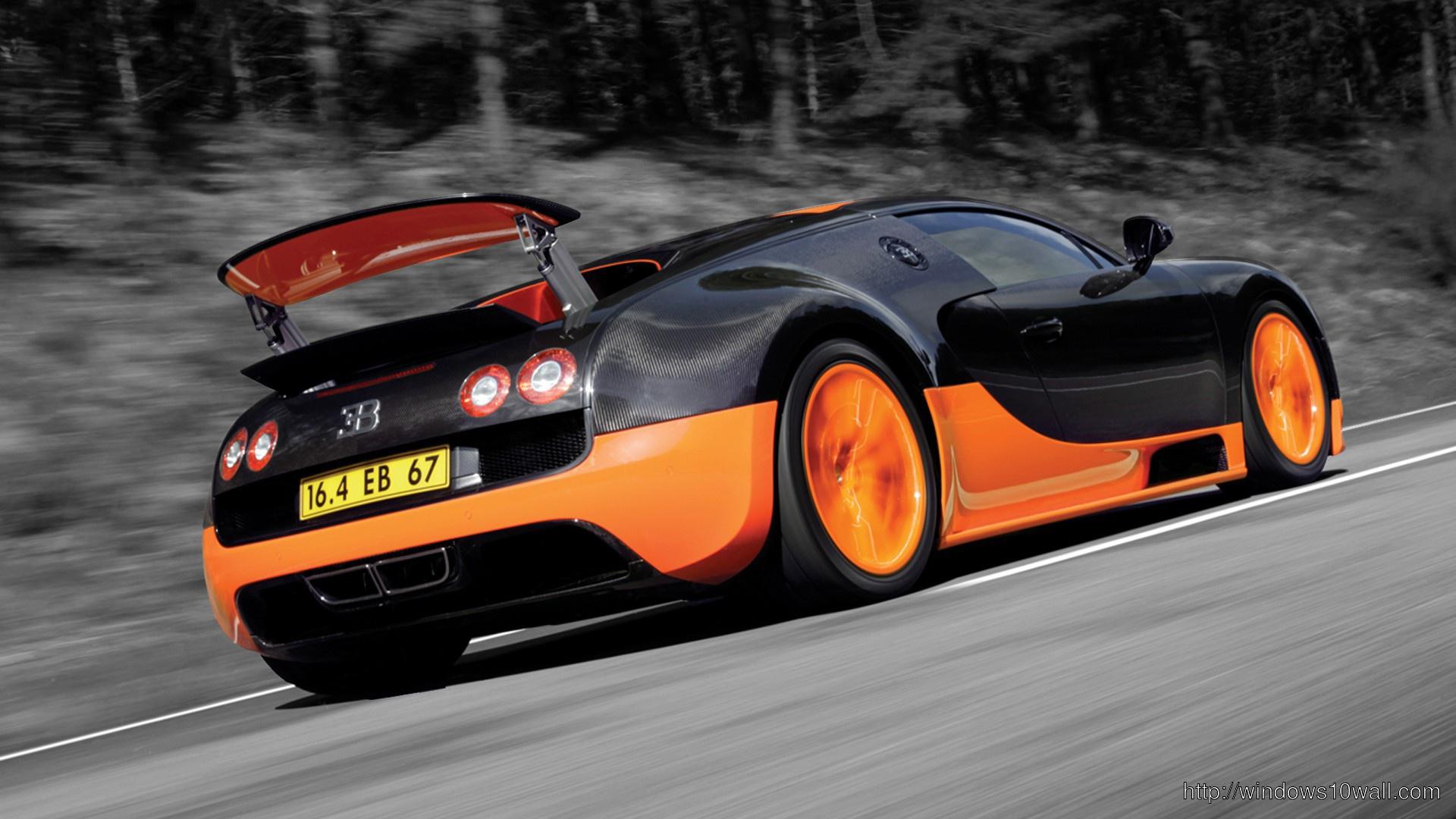 bugatti sports cars free wallpaper bugatti veyron super sport side - Bugatti Veyron Super Sport Top Gear Wallpaper