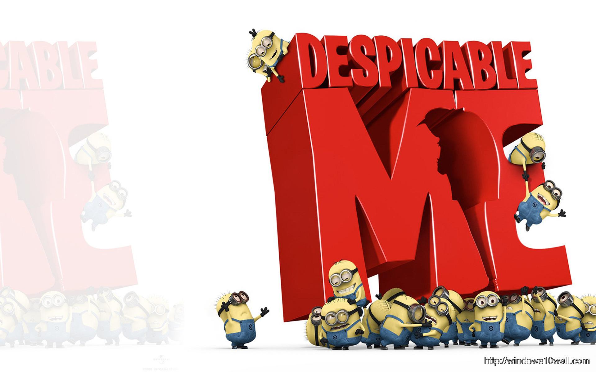 Cartoons Wallpapers - Despicable Me - Minions wallpaper