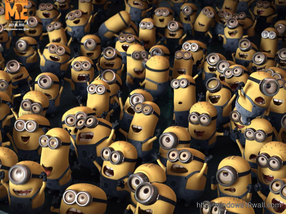 Despicable me movie minions hd wallpaper