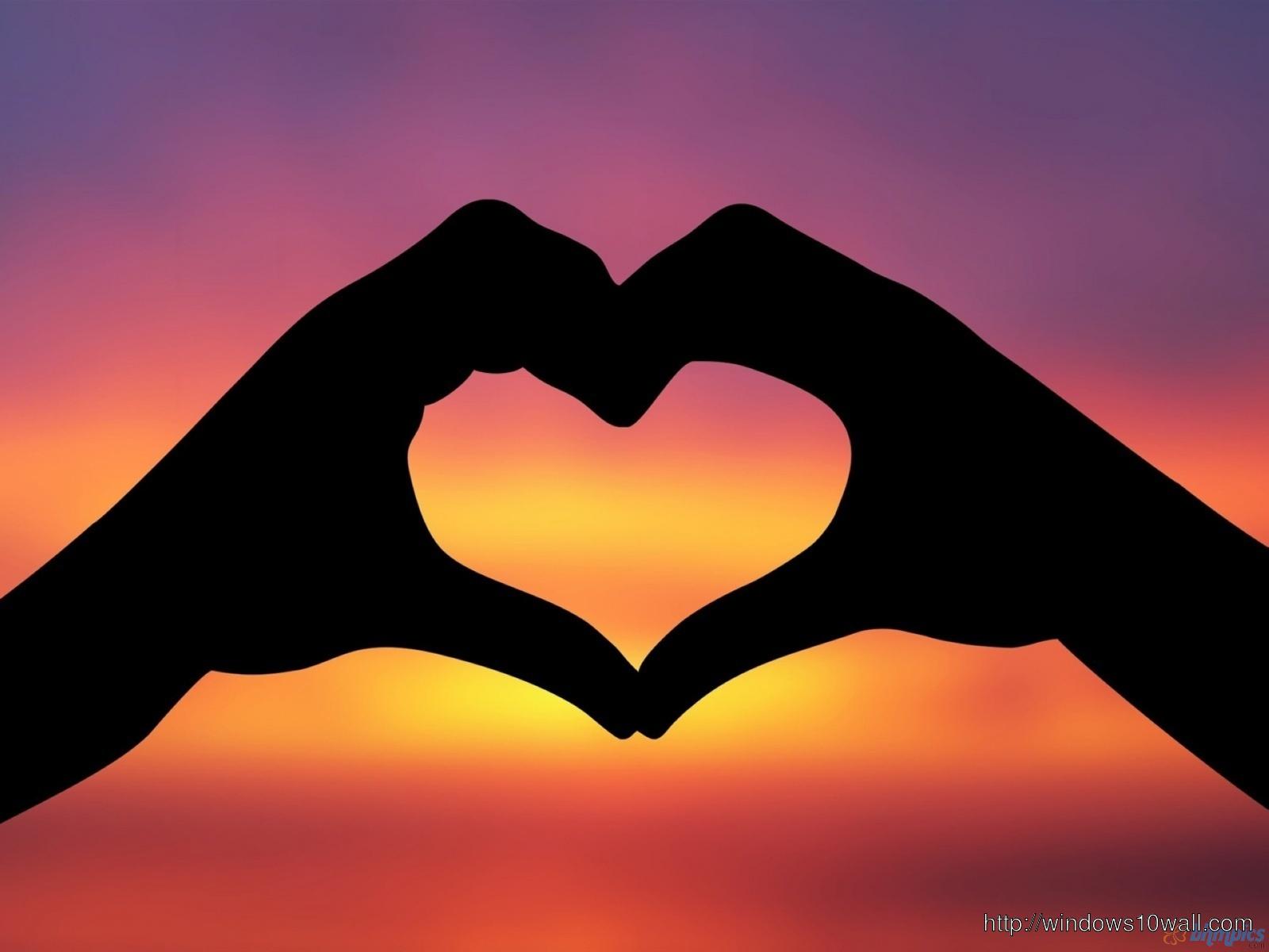 Love Heart Hd Wallpaper Free Download