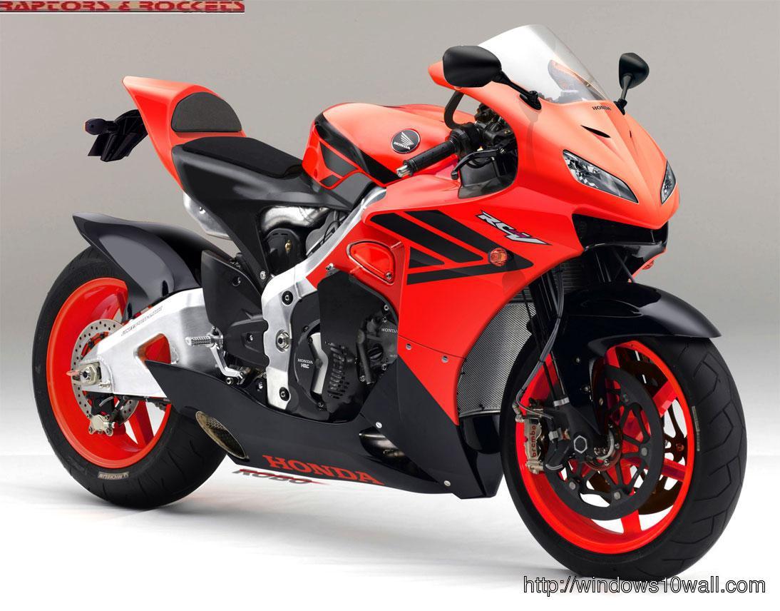 Honda Sports Bikes Wallpaper Free Download