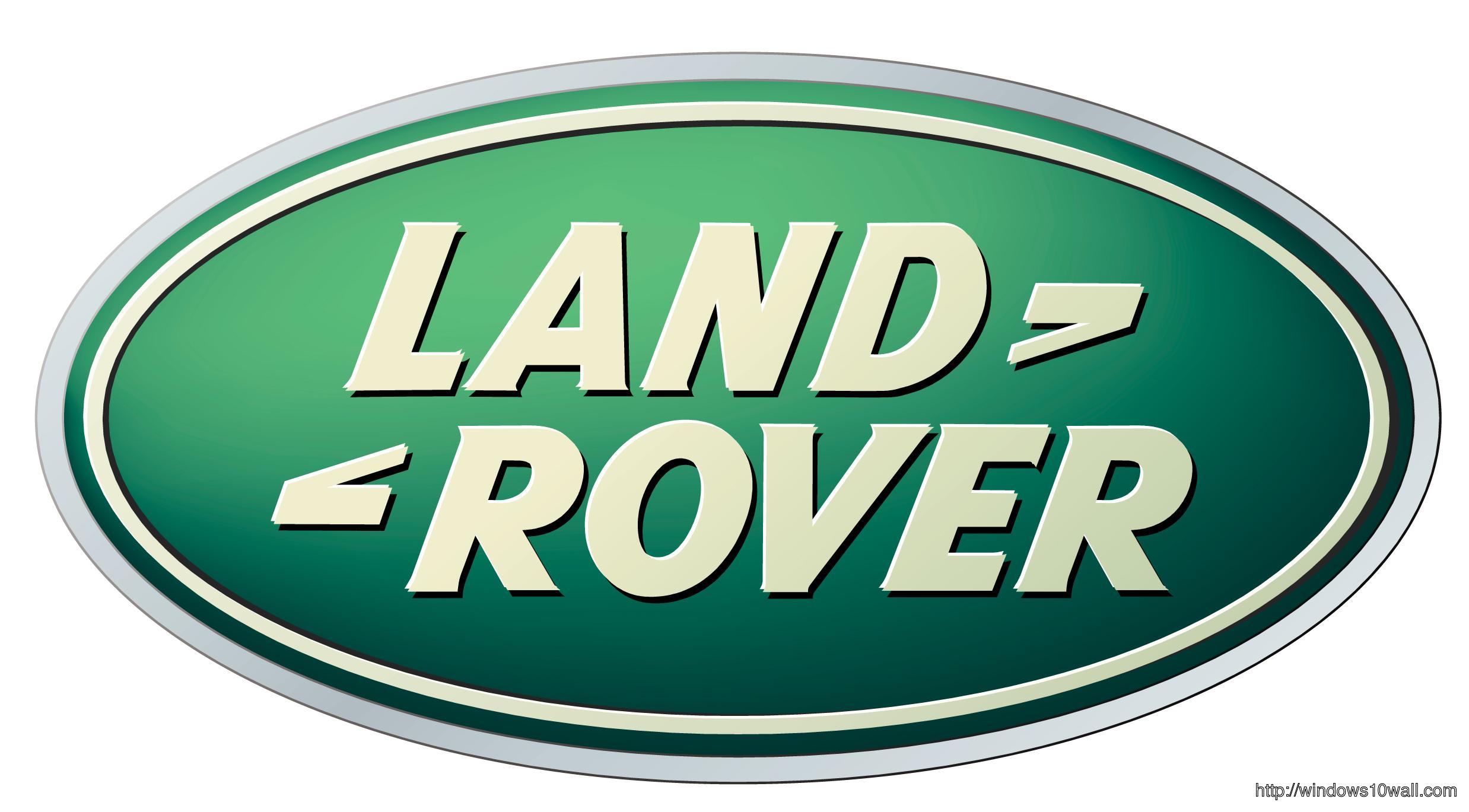 Land Rover logo Background Wallpaper