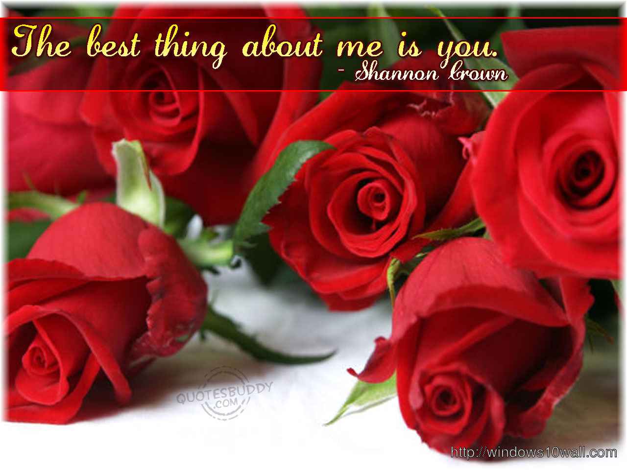 Love HD Graphic Red Rose Wallpapers