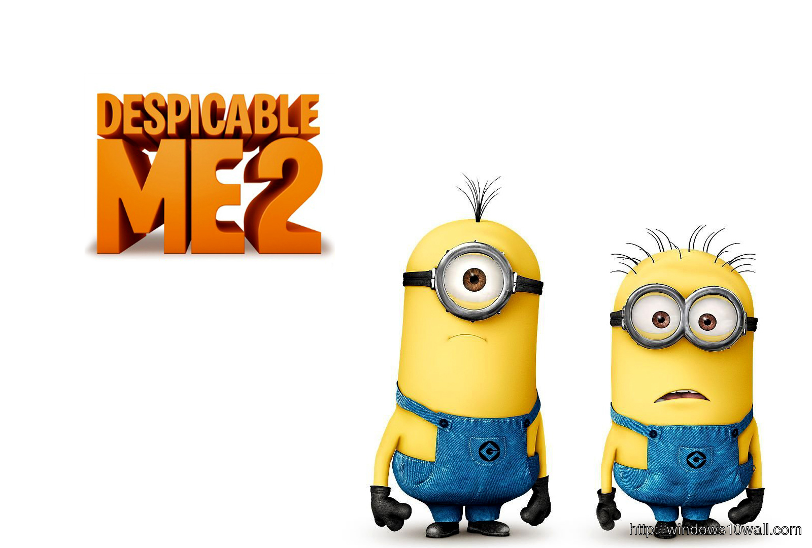 Minions in Despicable Me 2013 Movie wallpaper