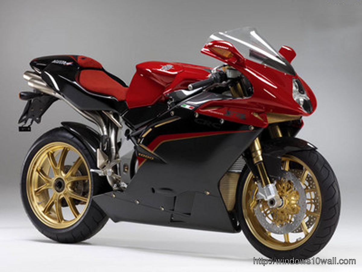 Red Sports Bike Background Wallpaper 28