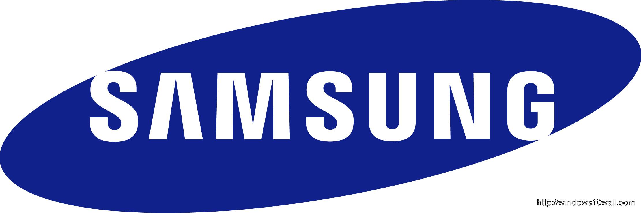 Samsung Logo Background Wallpaper Windows 10 Wallpapers