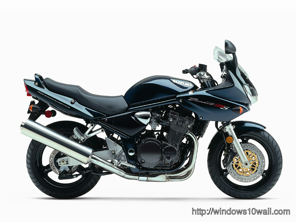 Suzuki Bandit 1200 S Sports Bike Background Wallpaper