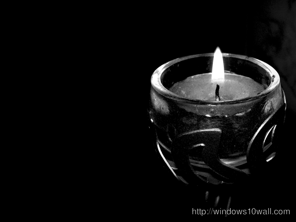 Candle Black Wallpapers background