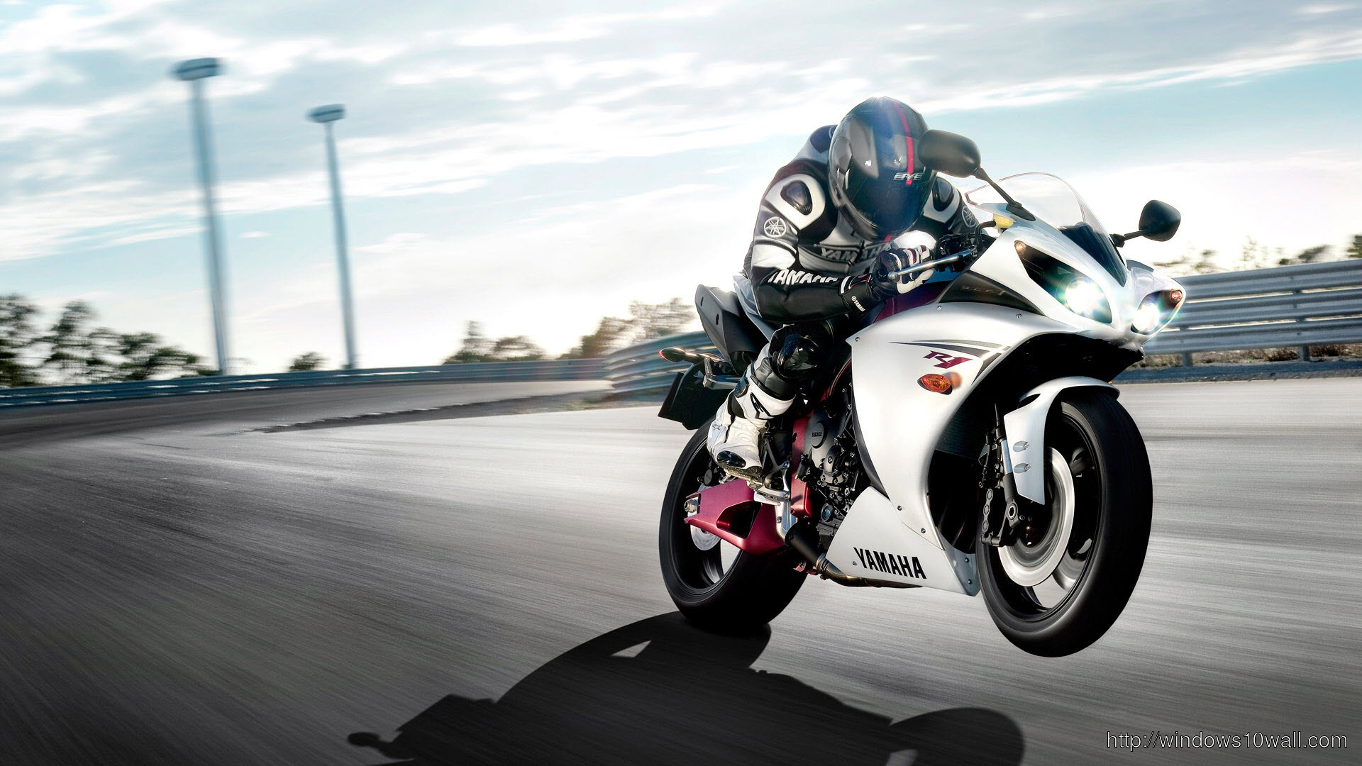 Yamaha r1 race sports bike Background Wallpaper 55