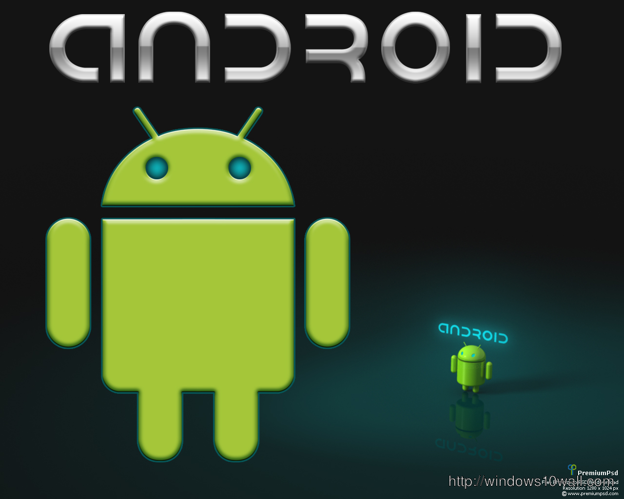 Top Ten Most Exclusive Android Logo Graphics
