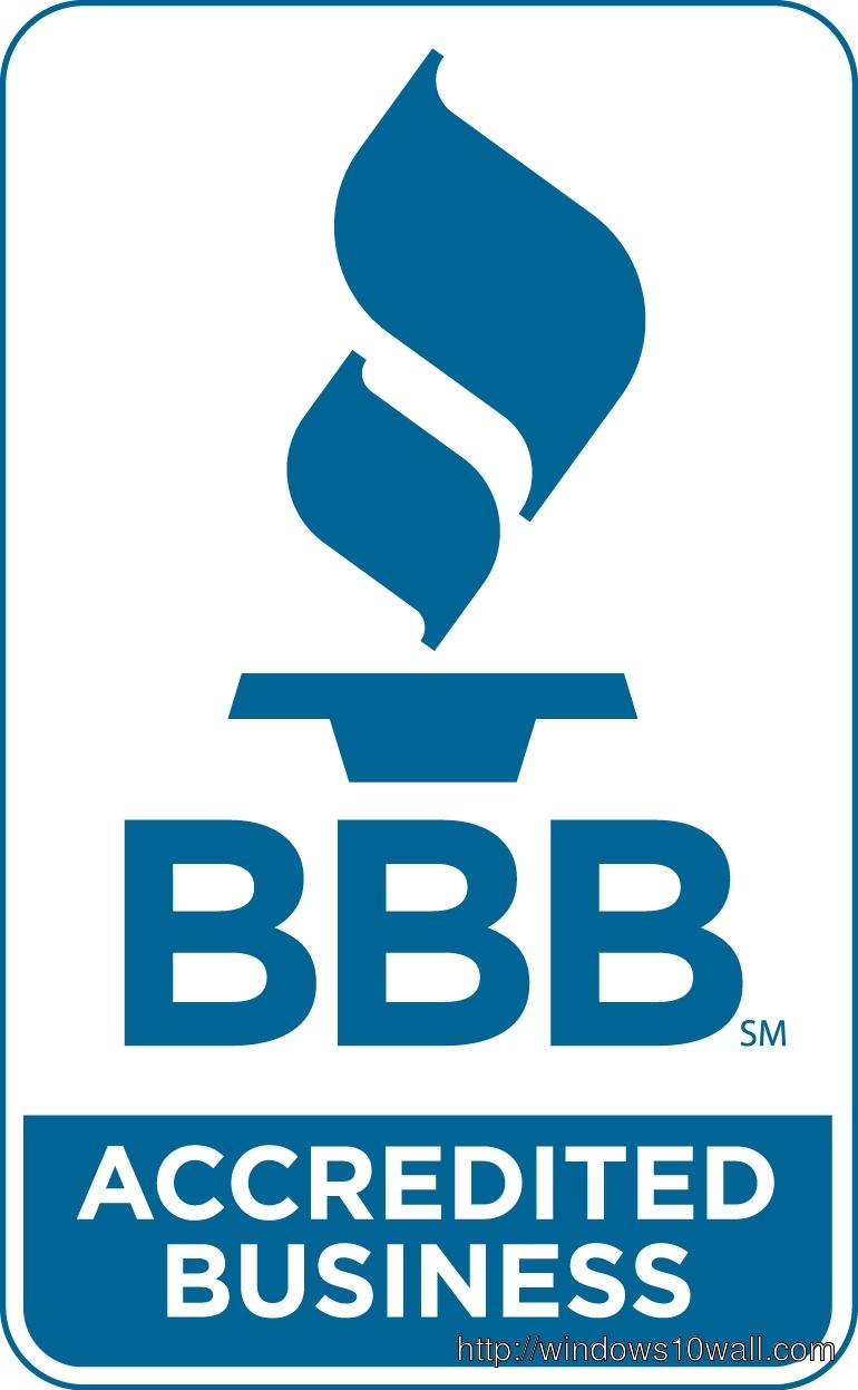 Better Business Bureau Logo or BBB Logo Background Wallpaper