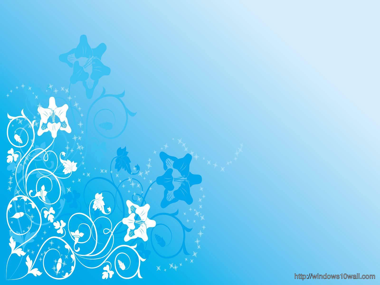 White n Blue Stars Nice Background Wallpaper