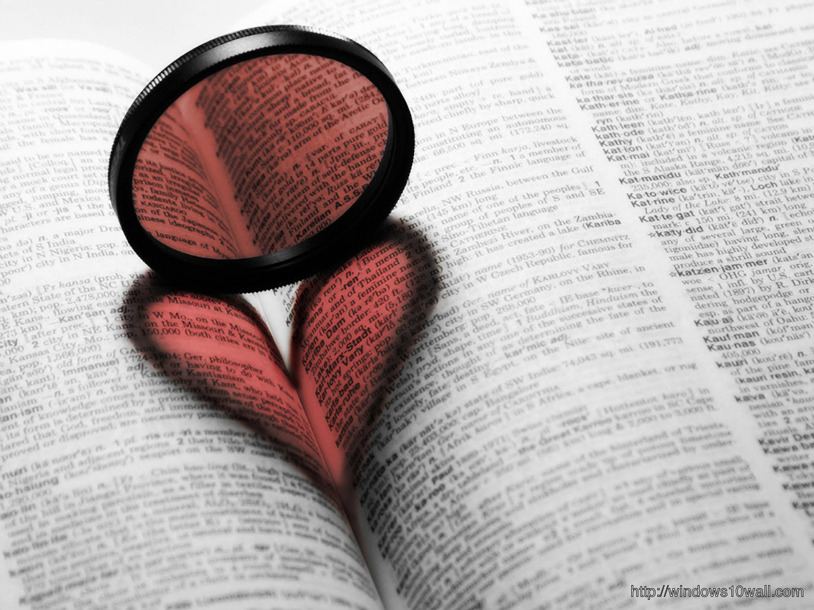 book and heart hd wallpaper free
