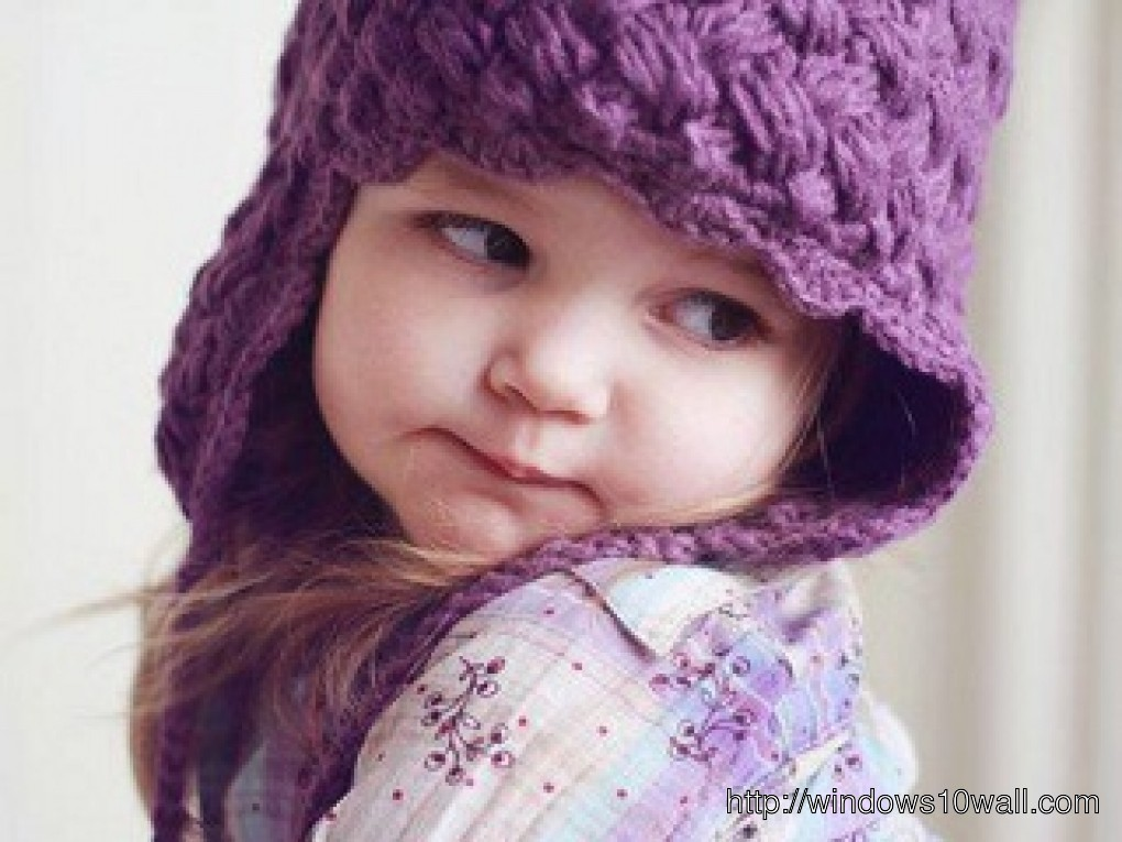 Cute And Beautiful Baby Girl Hd Wallpaper Windows 10 Wallpapers