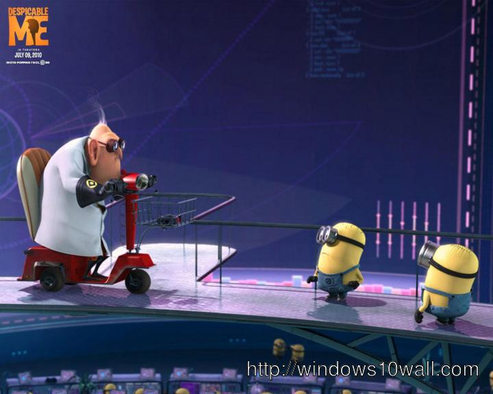 His minions art background wallpaper free download