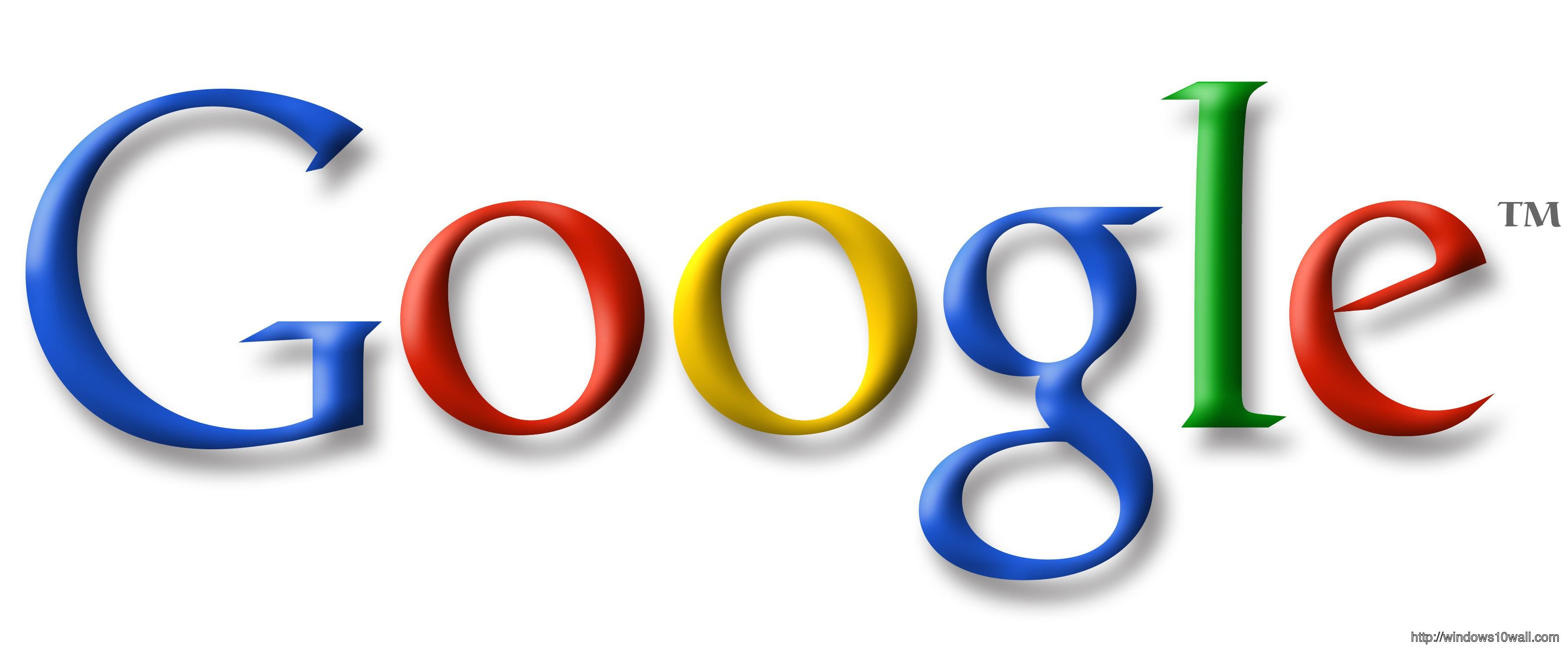 Google Logo Background Wallpaper