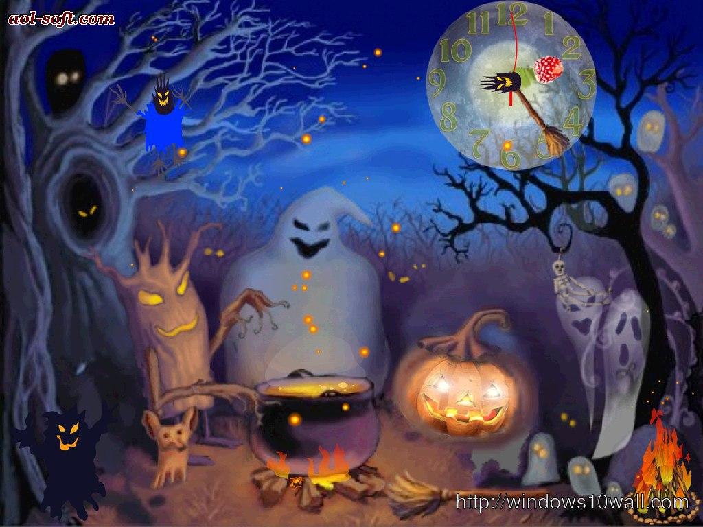 Happy Halloween Live Animated Wallpaper