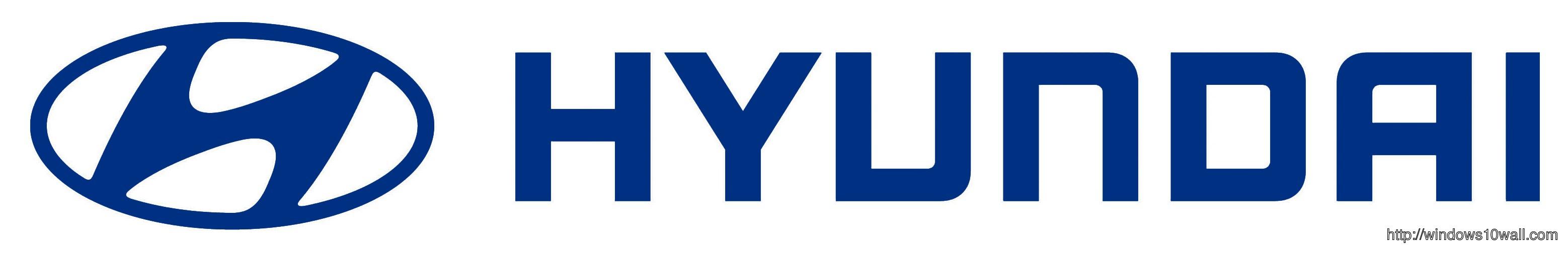 Hyundai Logo Background Walllpaper