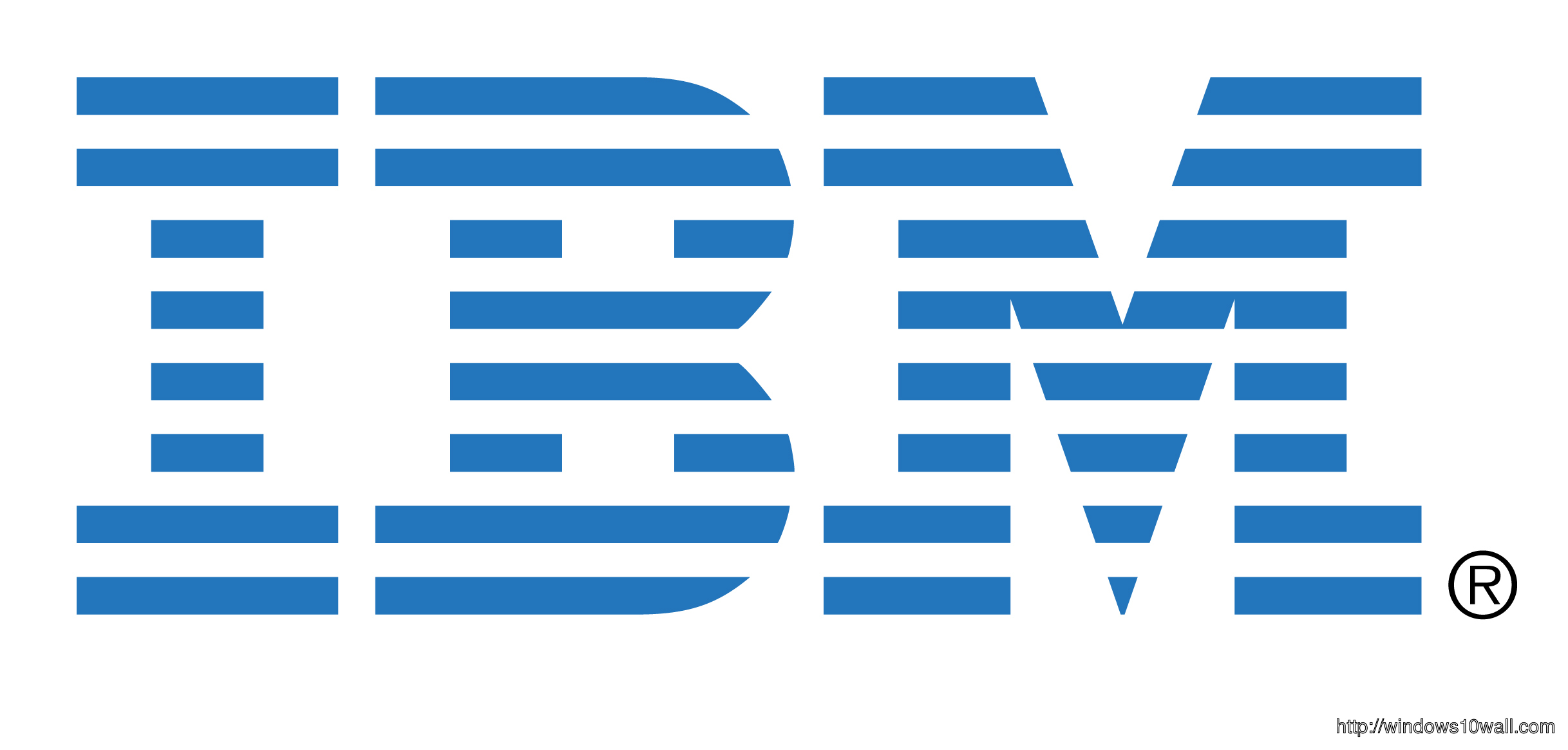 IBM Logo Background Wallpaper