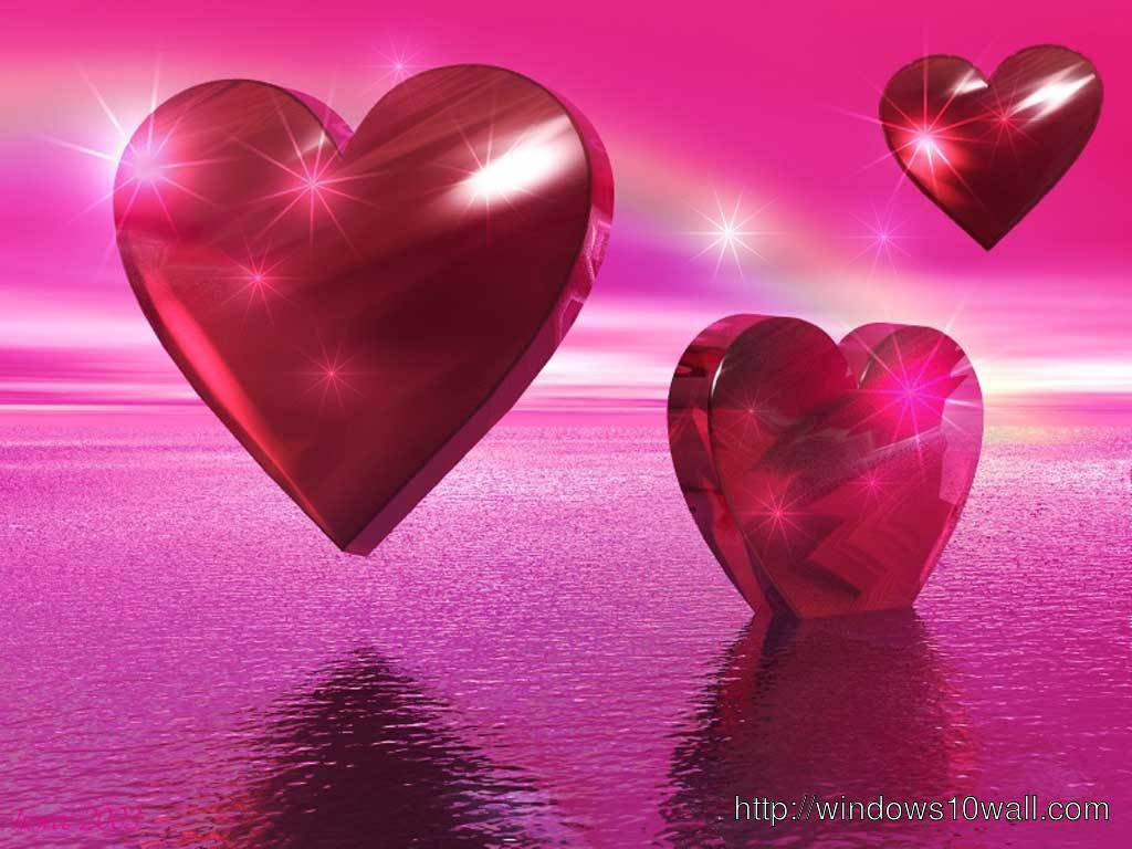 Beautiful Hearts Love Hd Wallpapers