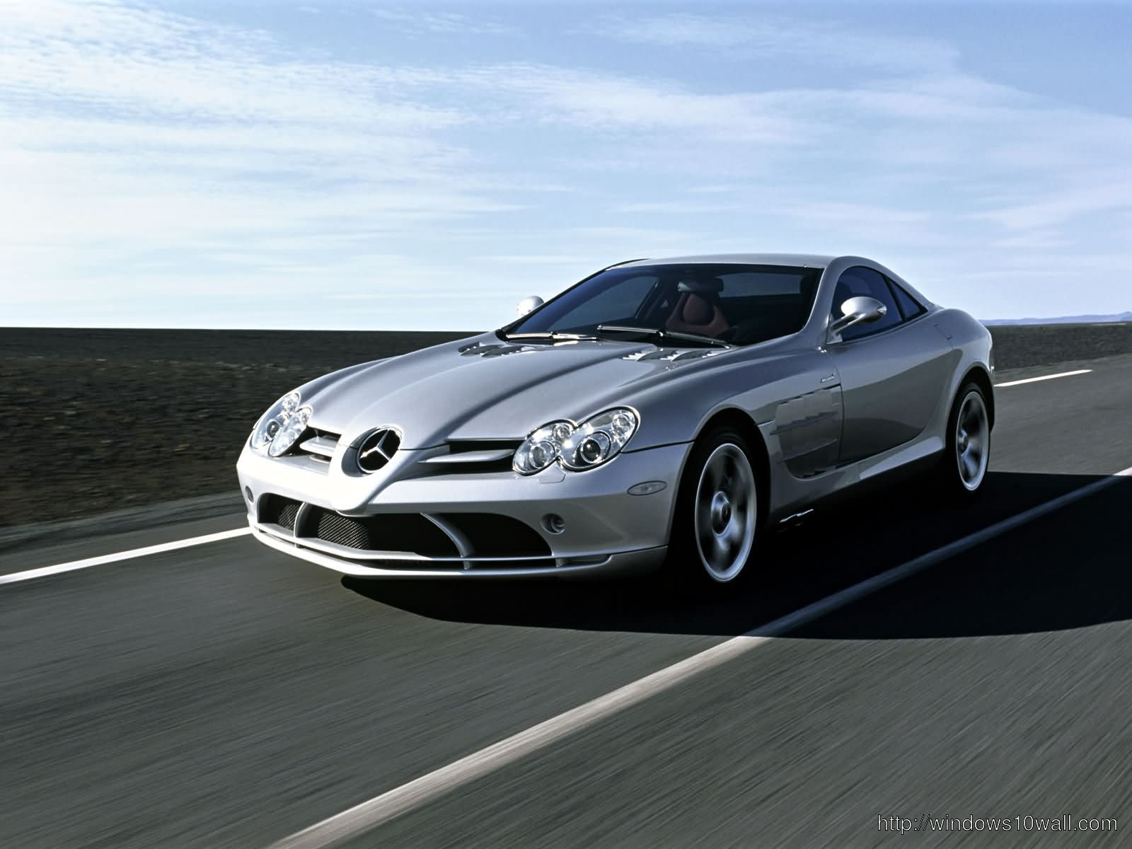 Mercedes Benz sports car wallpapers