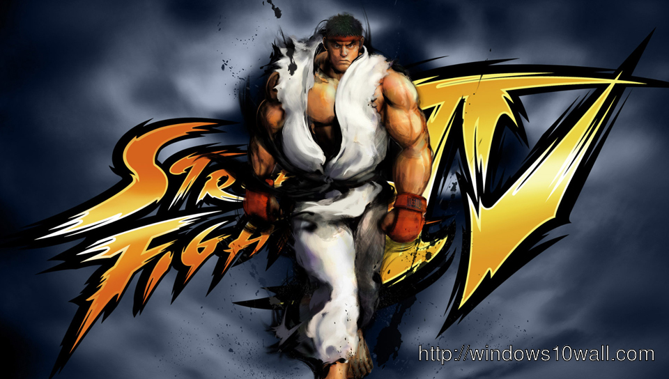 Download this Street Fighter IV PS Vita Wallpaper