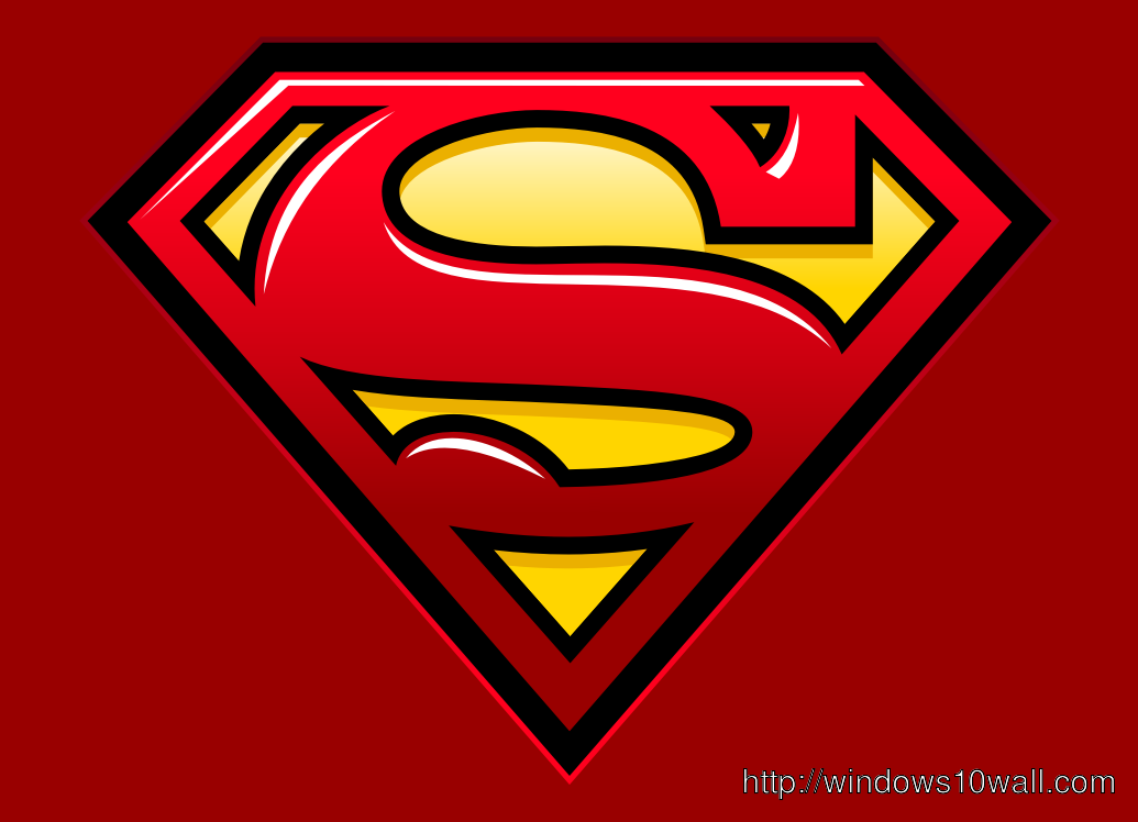 Superman logo for his Fan download