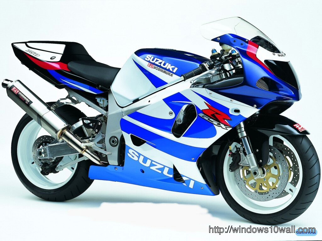 Suzuki Sports Bike 14 Background Wallpaper
