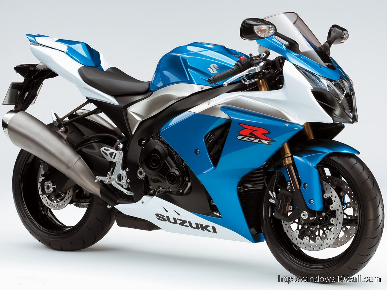Suzuki Sports Bike 6 Background Wallpaper