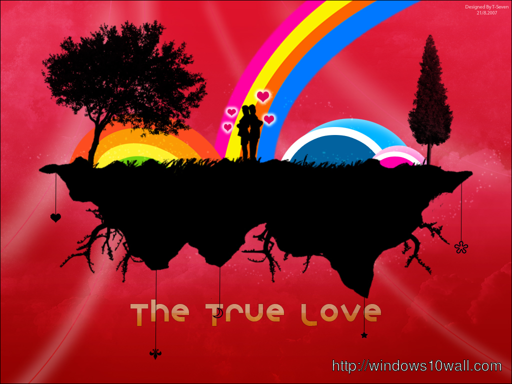 The True Love HD Wallpaper