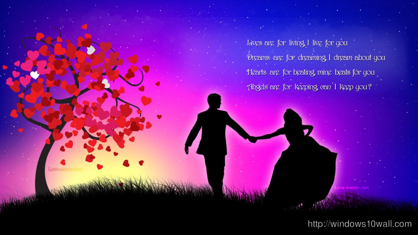 Dancing Couple Love Wallpaper