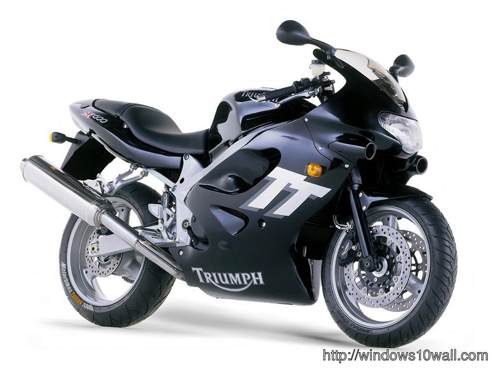 Triumph TT600 Sports Background Wallpaper