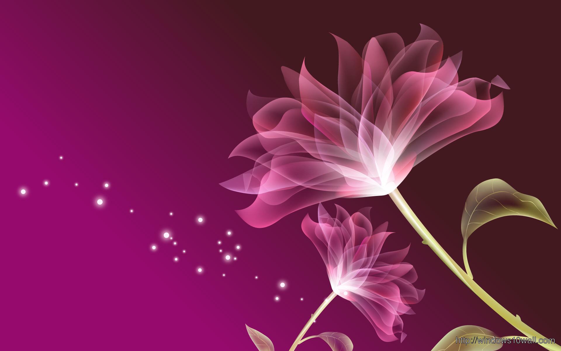 Cg Pink Flower Free Wallpapers 2013 Free Download