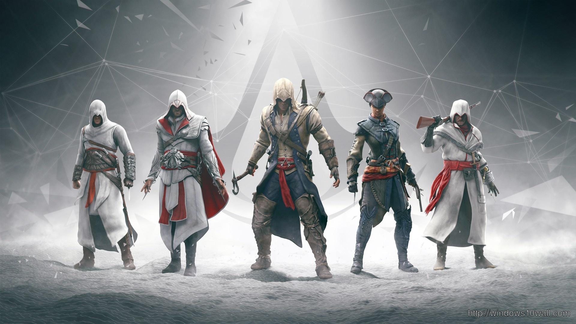 Hd Assassins Creed Background Wallpaper Windows 10 Wallpapers