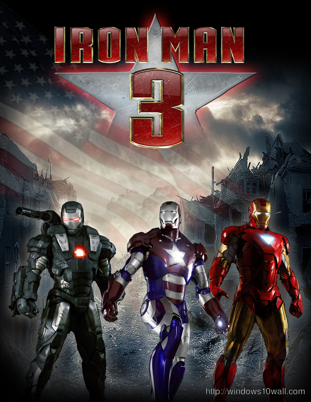 Iron Man 3 latest movie wallpaper free