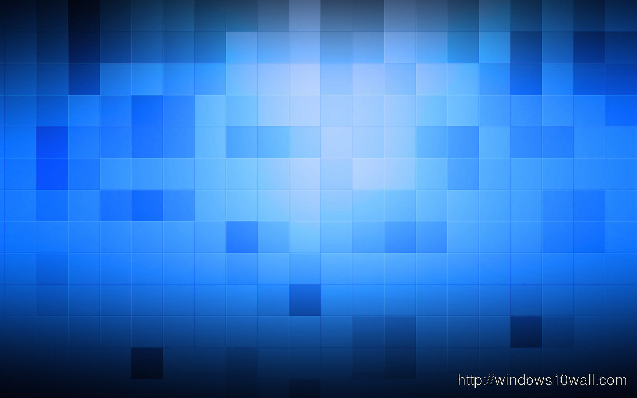 Cubes squares on blue background