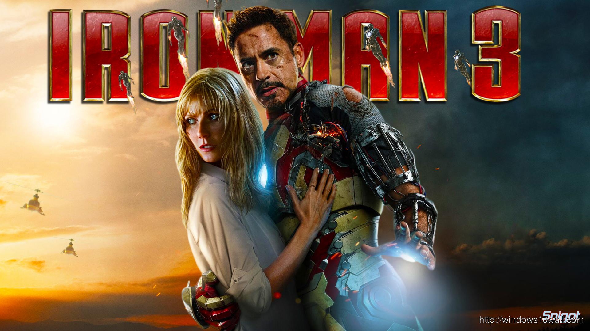 Iron Man 3 amazing wallpaper for desktop