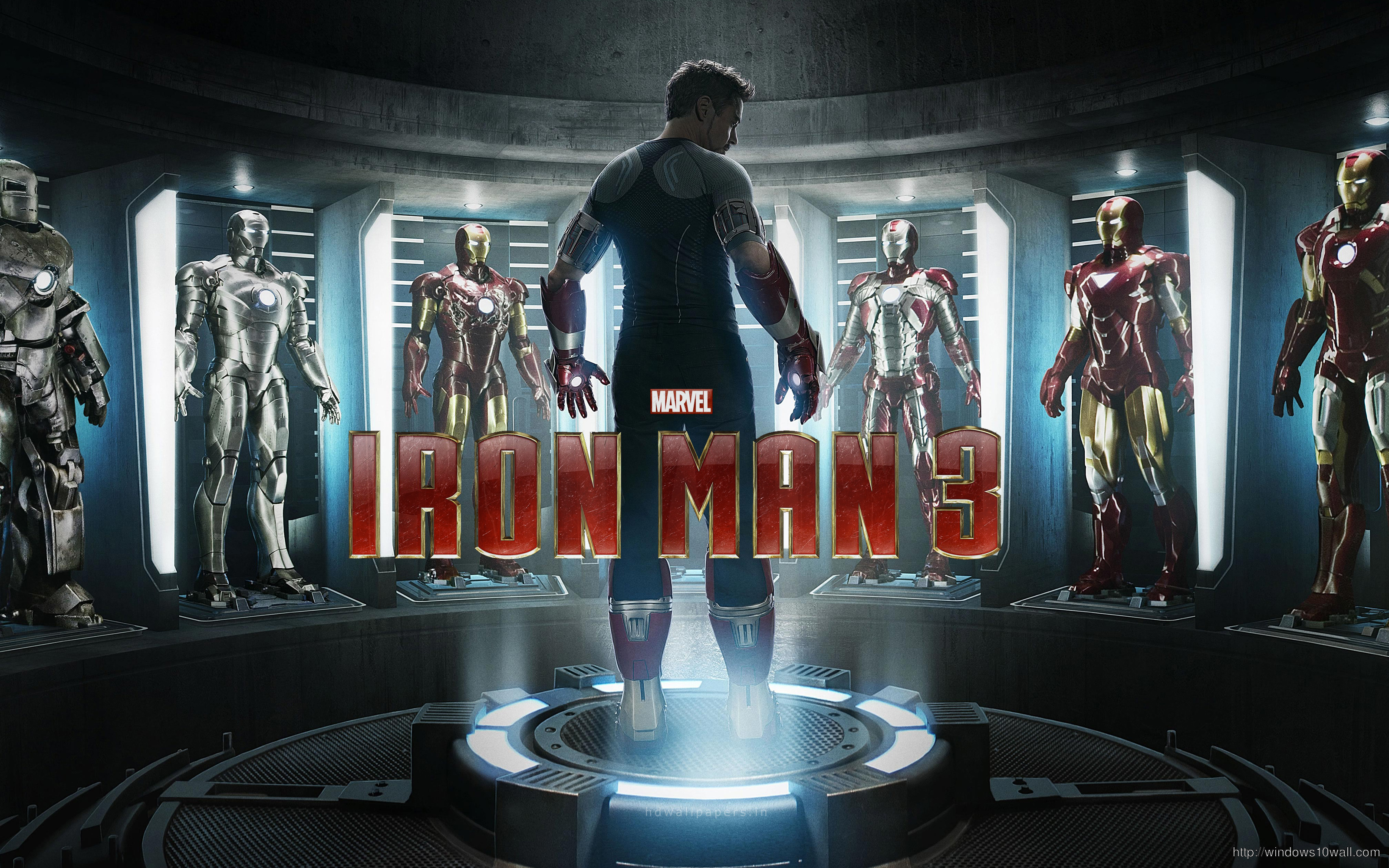 Iron Man 3 is as Big as The Avengers wallpaper free