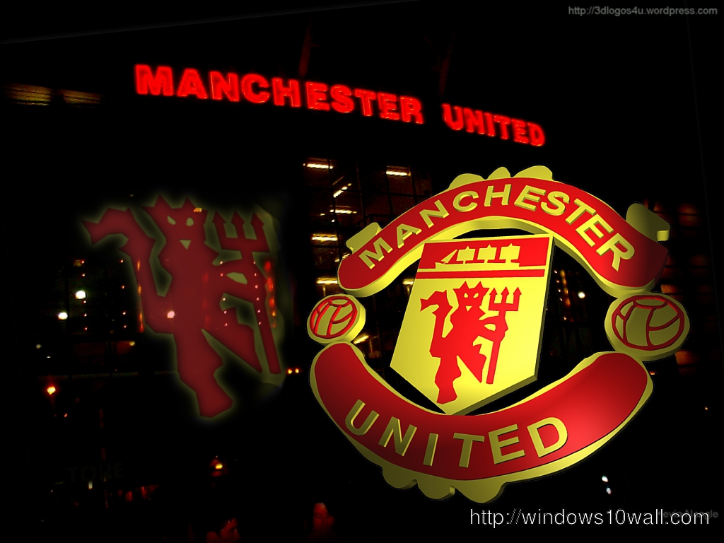 Manchester United Logo 2012 Wallpaper Free Windows 10