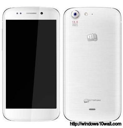 Micromax Canvas 4 Frond n Back Background Wallpaper