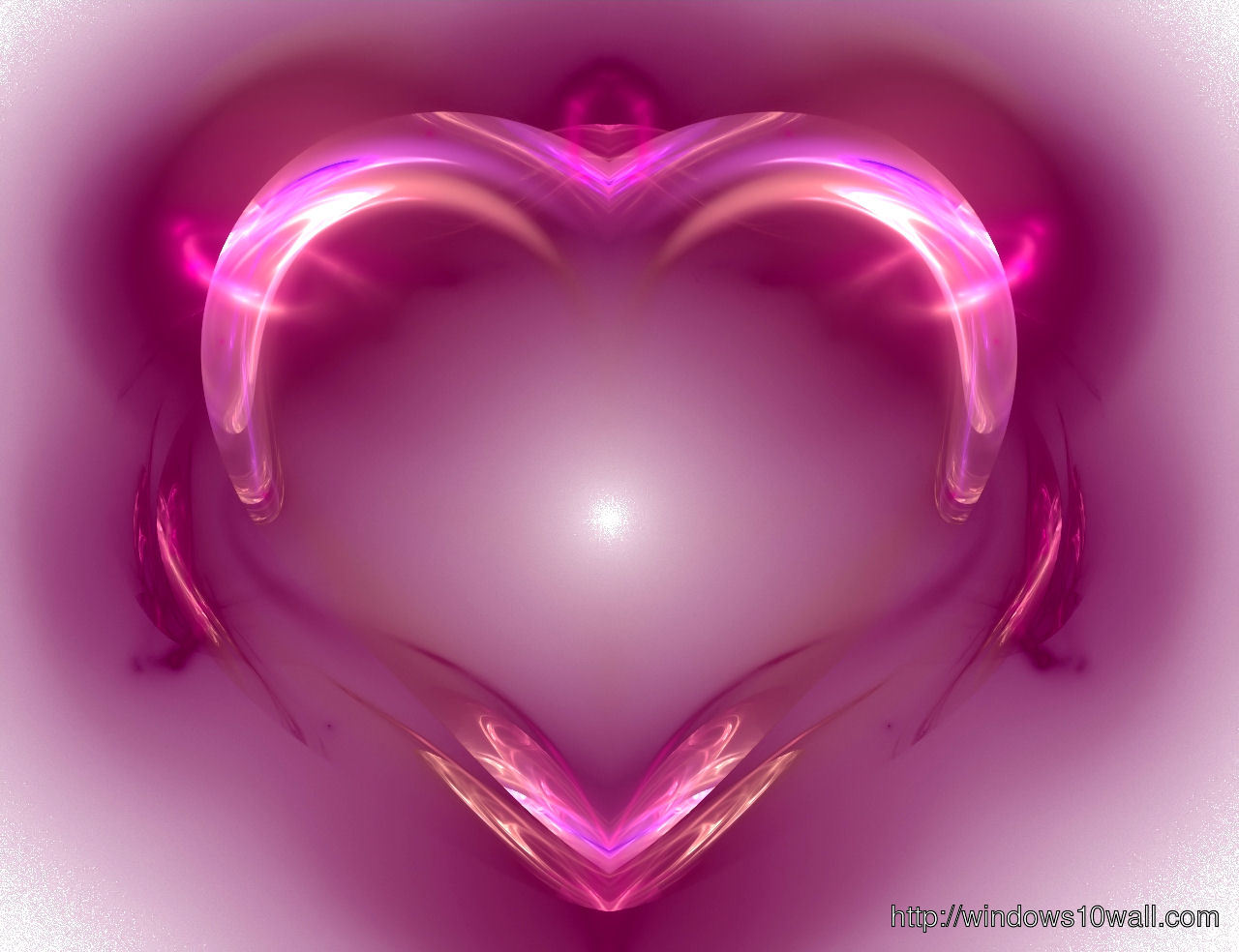 latest cool pink heart - photo #32