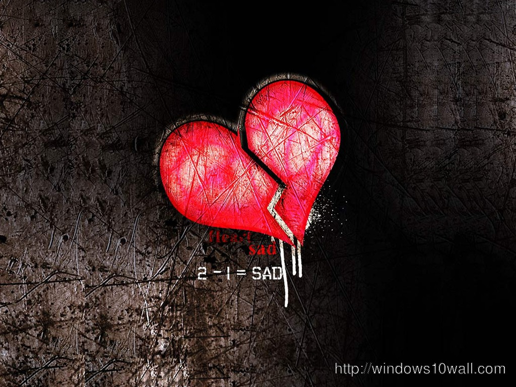 Sad heart wallpaper free download windows 10 wallpapers - Sad heart wallpapers love ...