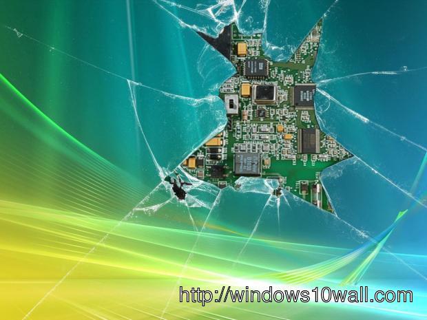Broken Screen hd Wallpaper free
