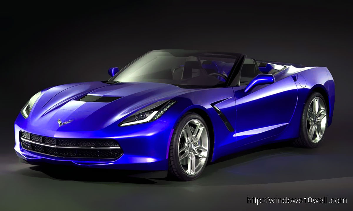 2014 Corvette Convertible Front hd Wallpaper