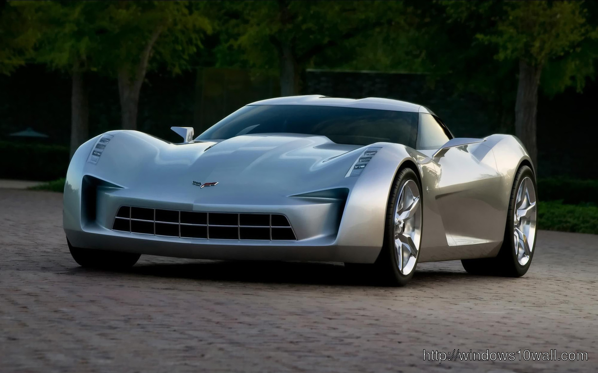Download 2014 Chevrolet Corvette C7 wallpaper