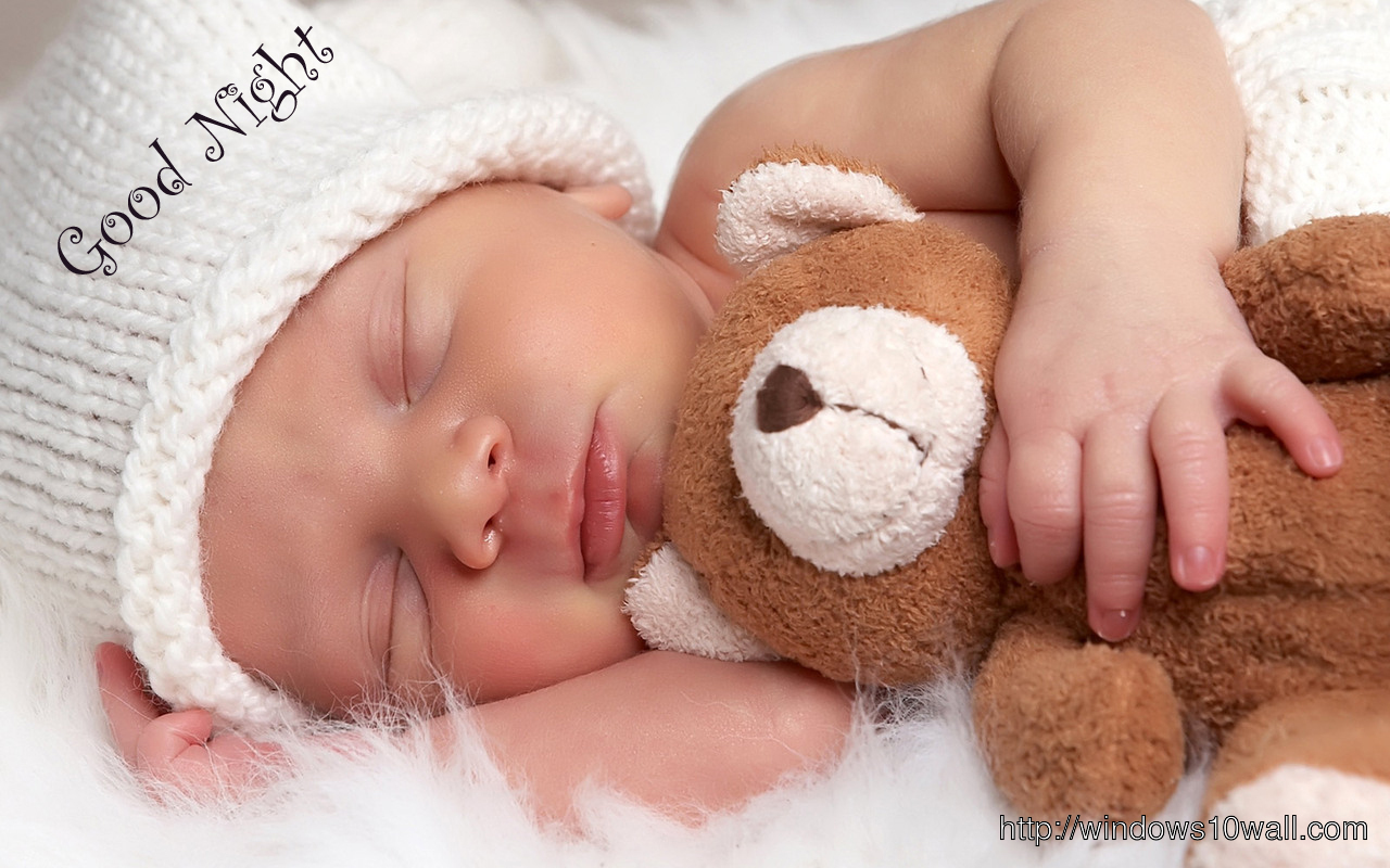 Cute Good Night Saying Sweet Dreams wallpaper
